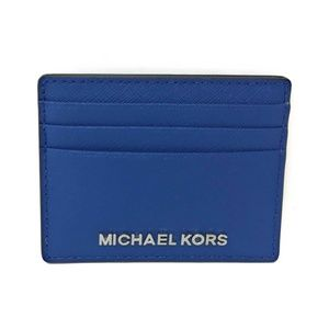Michael Kors Jet Set Travel Sapphire Card Holder